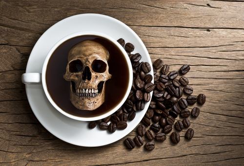 caffeine calculator figures out how much will kill you: the inner, Skeleton