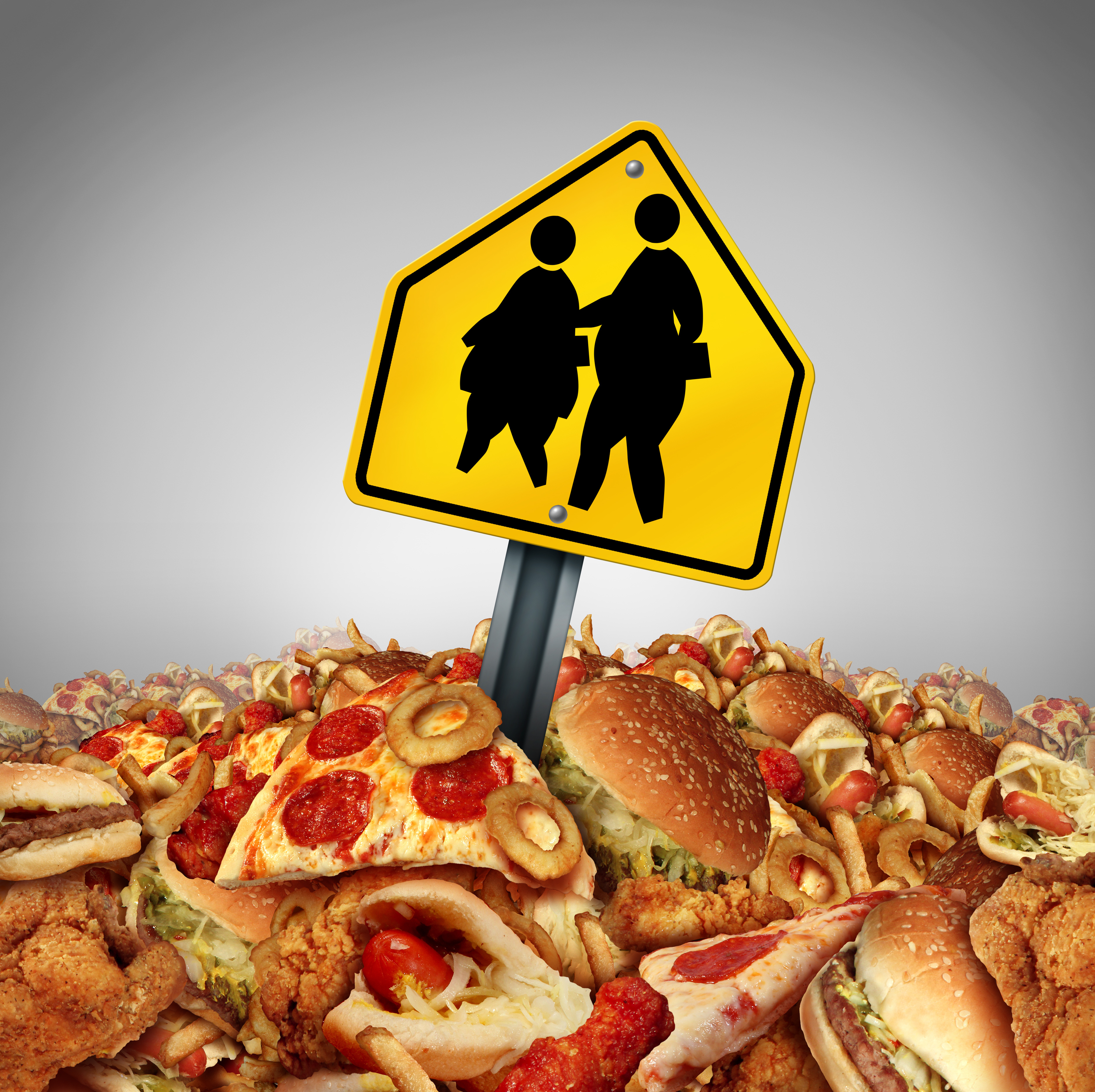 What are some arguable topics for childhood obesity?
