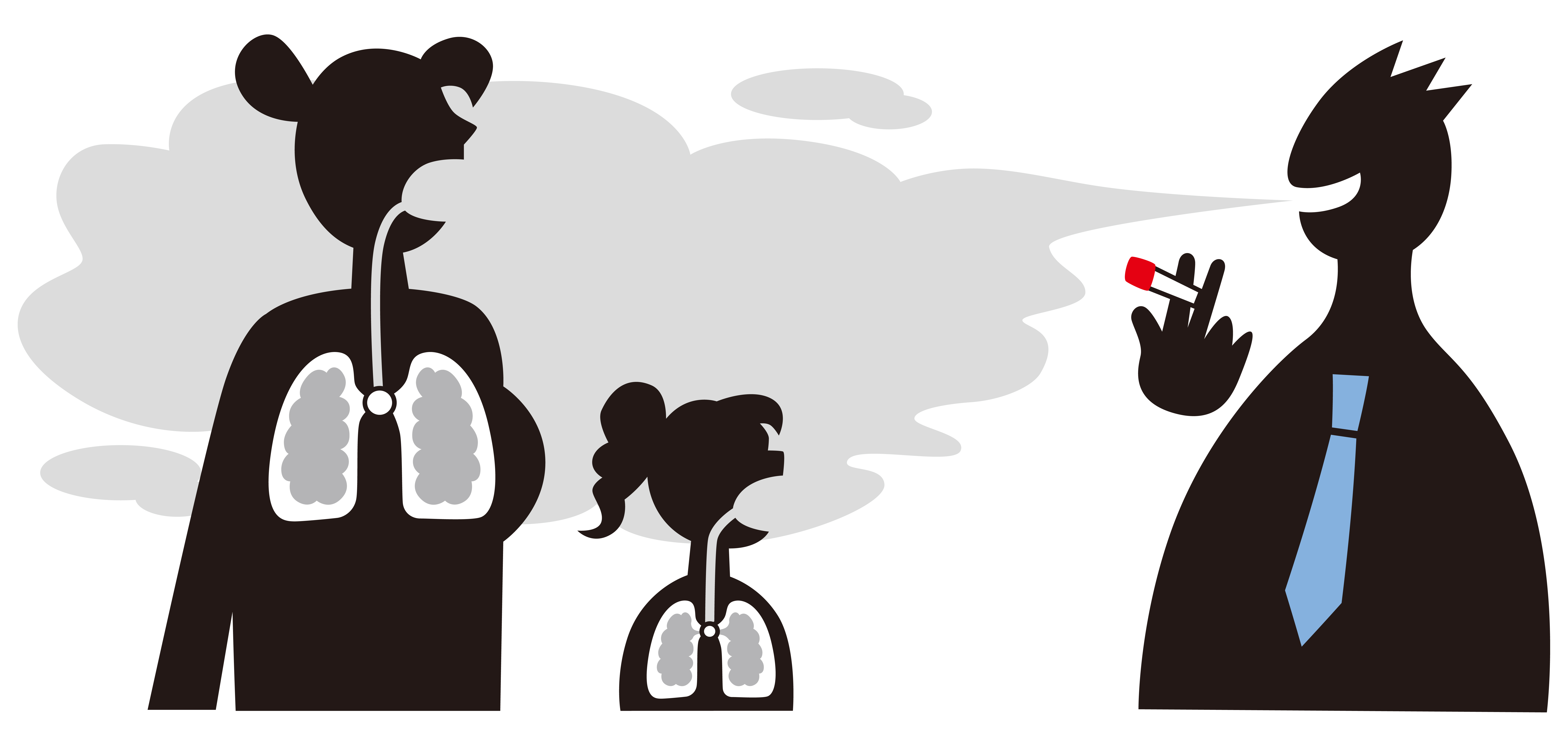 second hand smoke Smoke from cigars, cigarettes, and pipes harms your body in many ways, but it is especially harmful to the lungs of a person with asthma find out why from webmd.