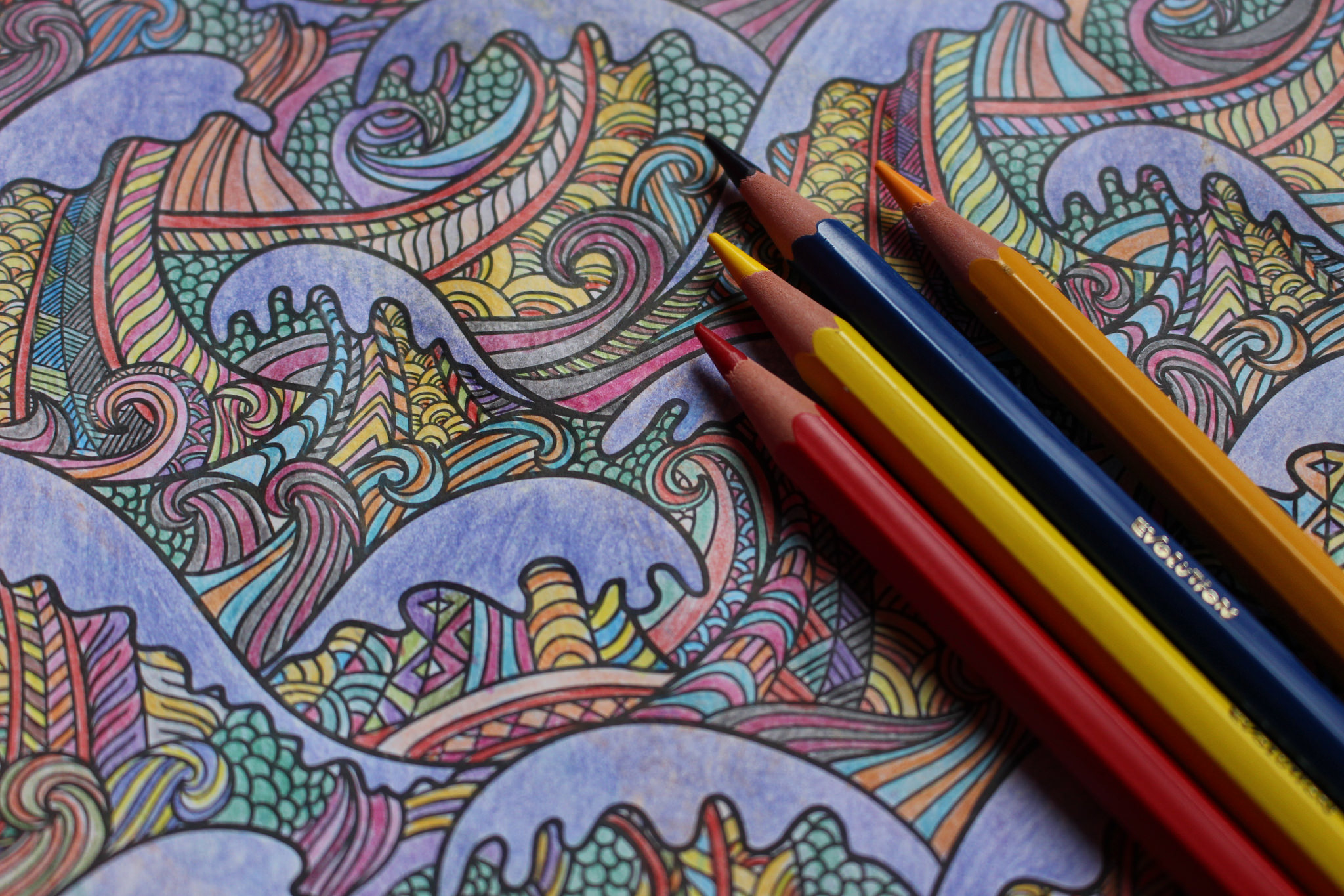 the therapeutic science of coloring books how this