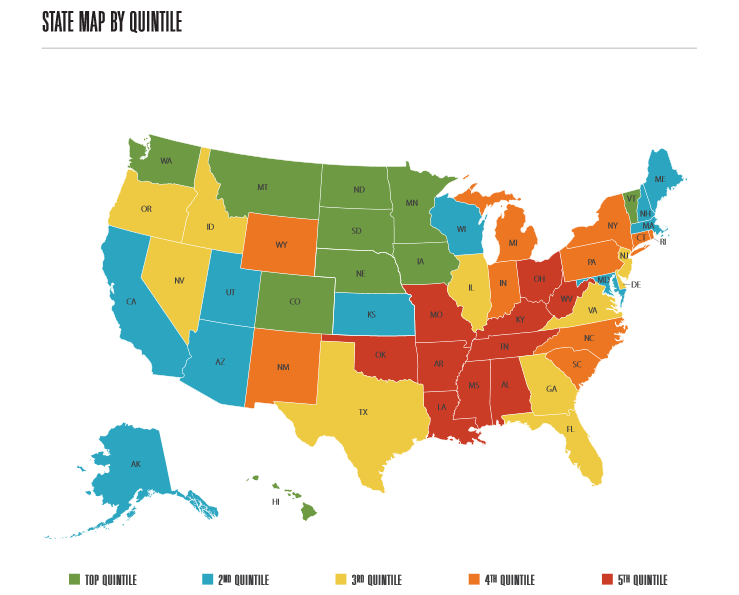 Gallup-Healthways reveal happiest and unhappiest states of America in well-being poll
