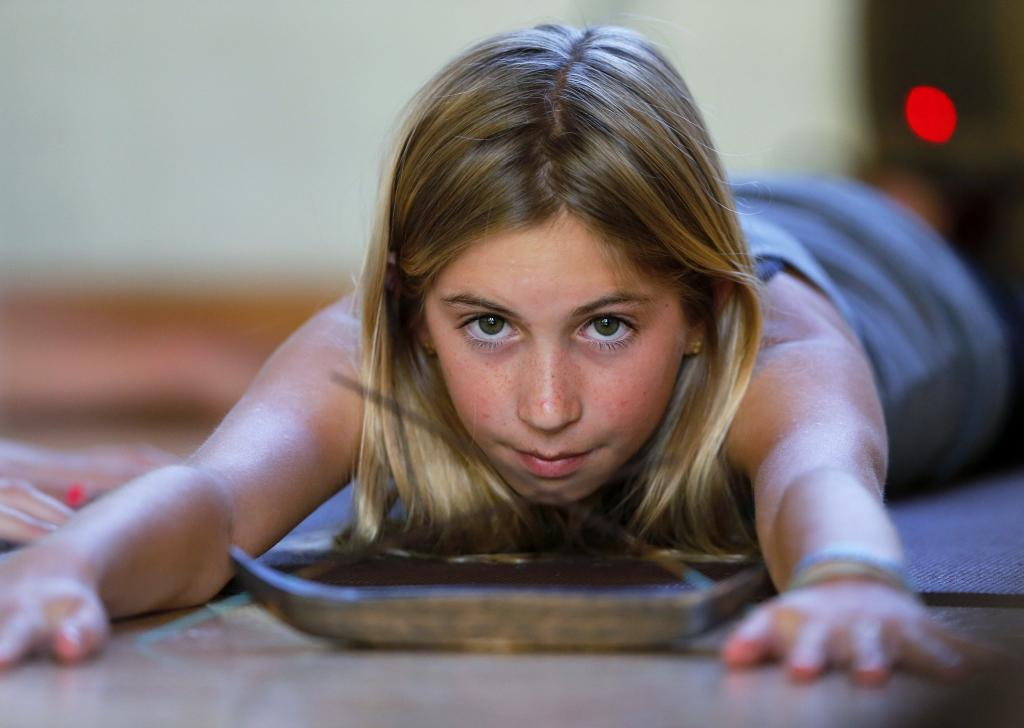 12-Year-Old Yogi Completes 200 Hours Of Yoga Training Because She 'Lov