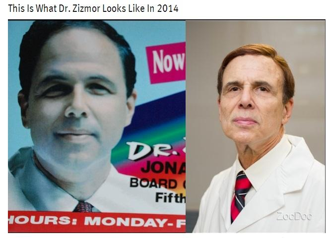 Notorious Dermatologist Dr. Zizmor Ravaged By Time