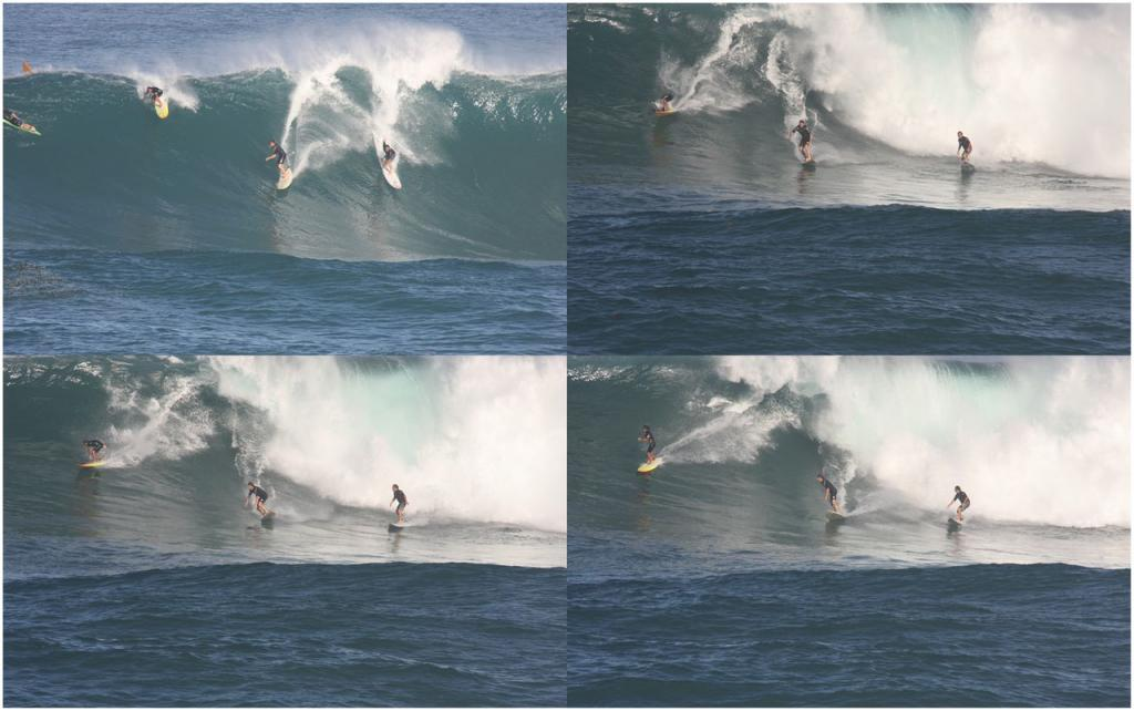 Surfer cures eye condition by riding 30-foot wave to remove fibrous tissue