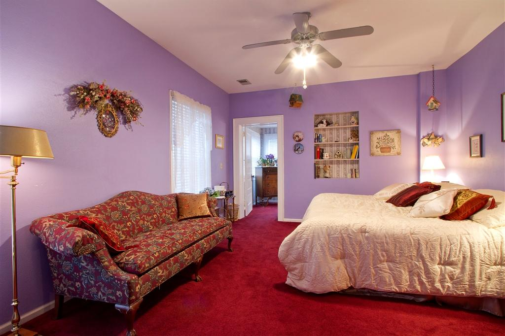 One of the rooms at The Adagio Bed and Breakfast
