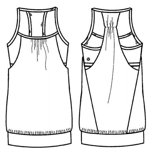 Tank Top Patent Design Lululemon Disputed With Hanesbrand