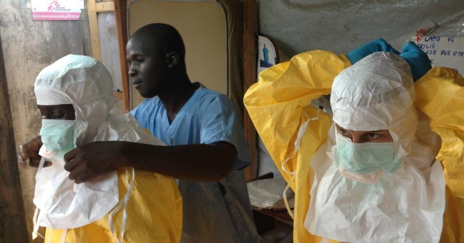 Ebola workers