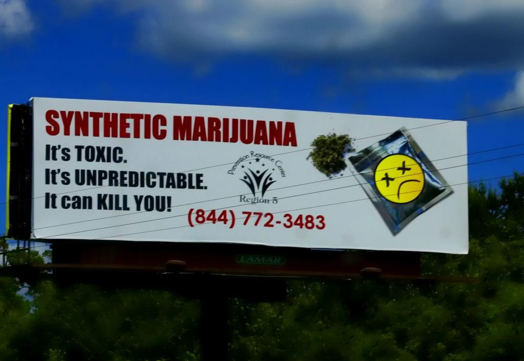 Synthetic Marijuana Billboard