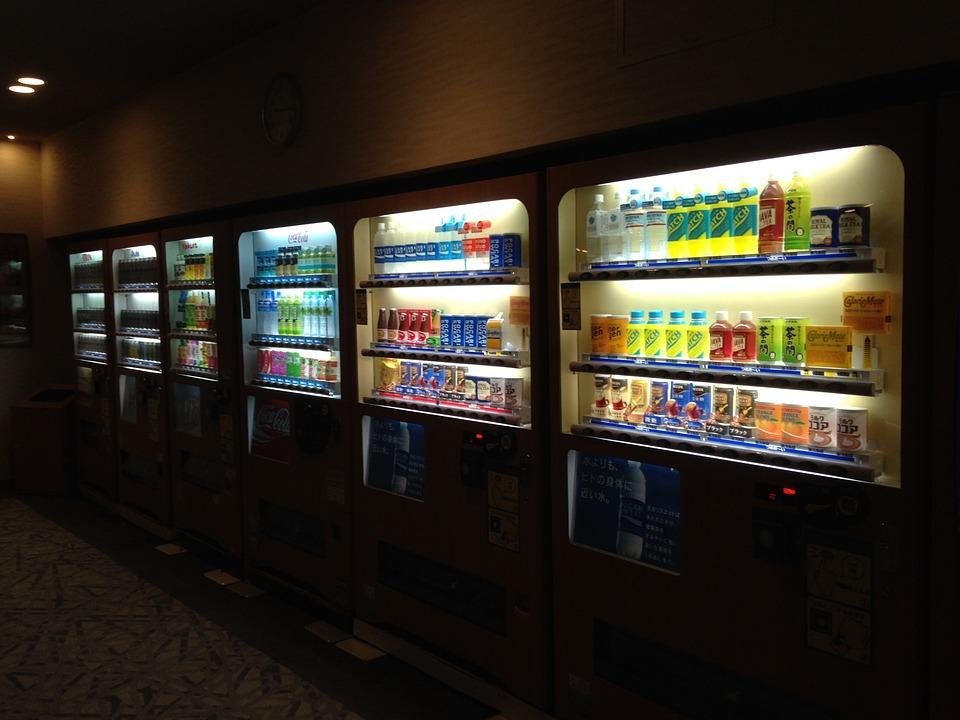 Change vending machine habits with a time delay