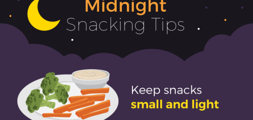 Midnight snacking tips
