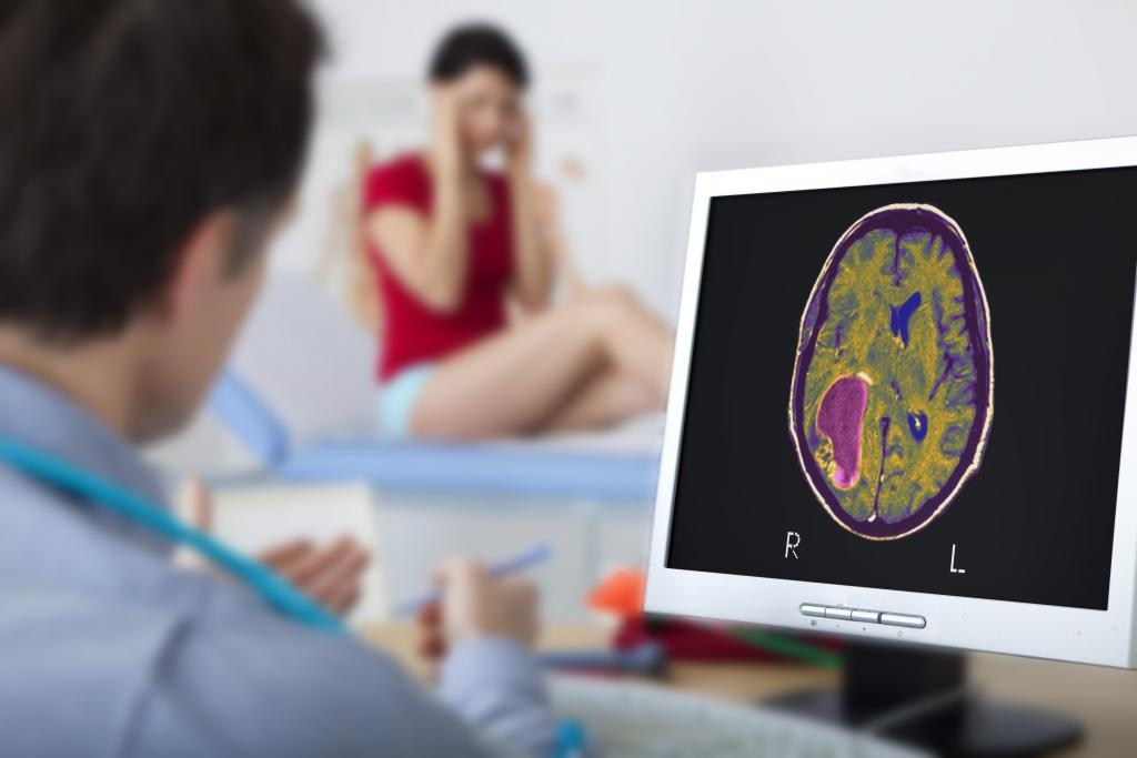 How do you treat herpes of the brain