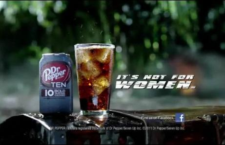 Dr Pepper Ten, the new low calorie drink from Dr Pepper
