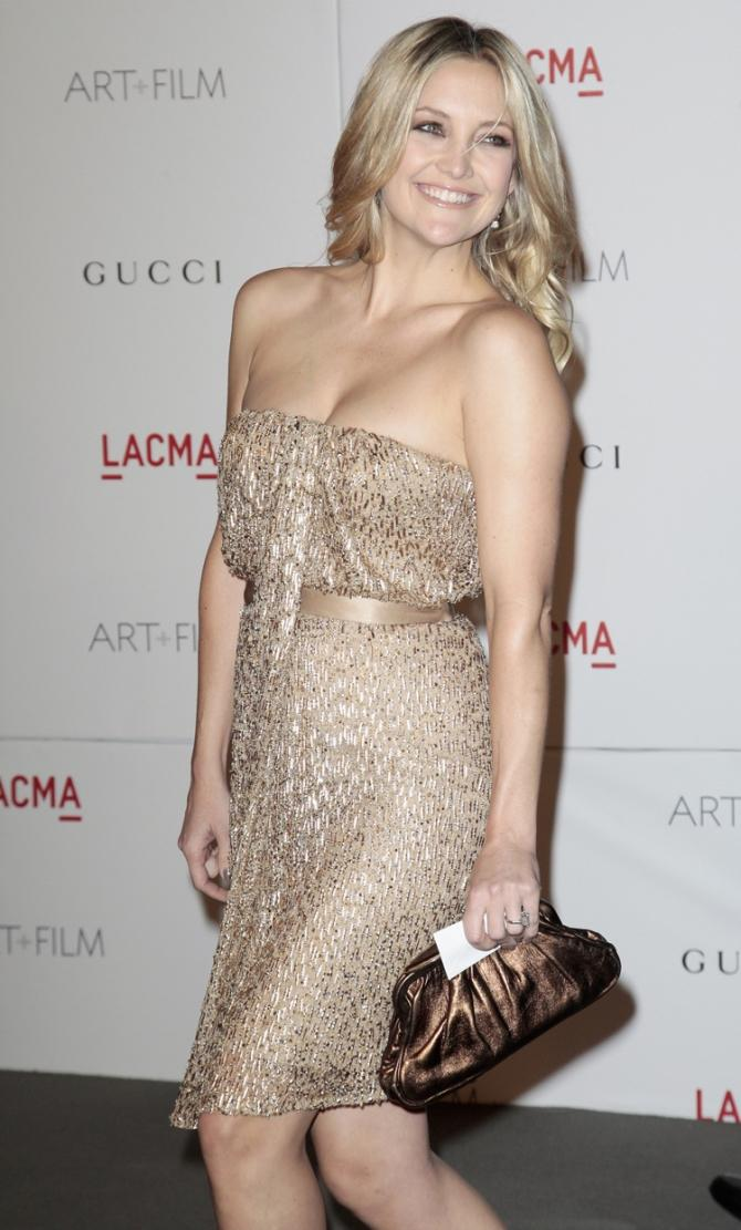 Actress Hudson arrives at the Los Angeles County Museum of Art (LACMA) Art + Film Gala