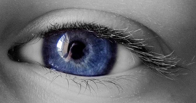 Picture of an eye.