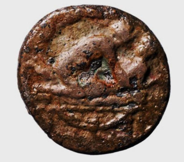 The Roman brothel token found in London's river Thames.