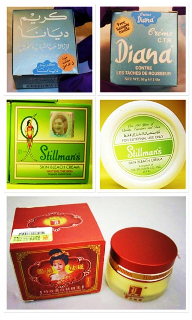 These skin creams manufactured in other countries are among the products found in recent years to contain mercury.