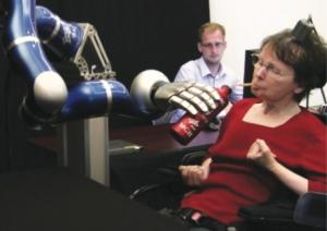 BrainGate Controlled Robotic Arms