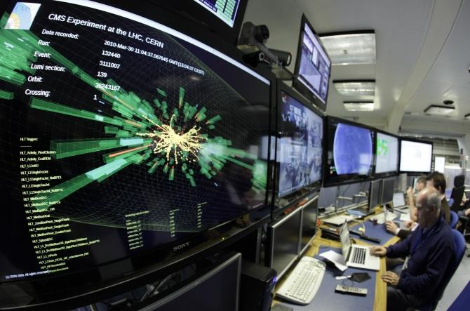 CERN Particle Explosion