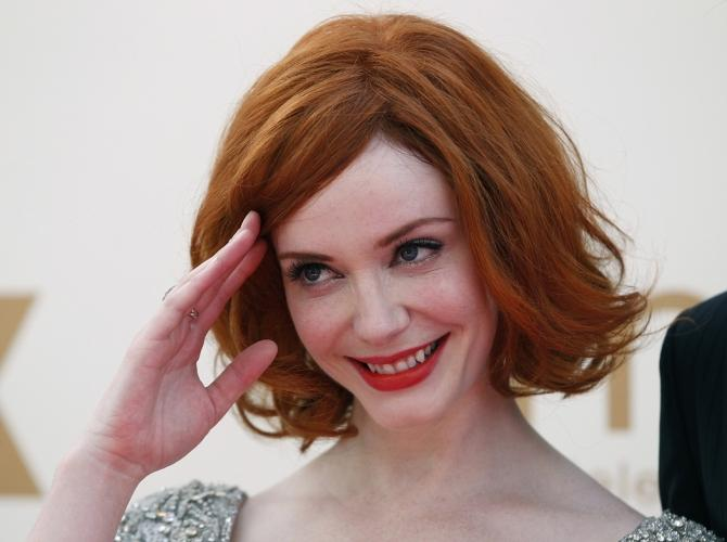 Scientists say that redheads may have a greater risk of disease. While she is a natural blonde, Christina Hendricks has recently become one of the world's most famous redheads for her role in Mad Men.
