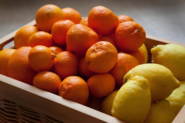 vitamin C, citrus fruits