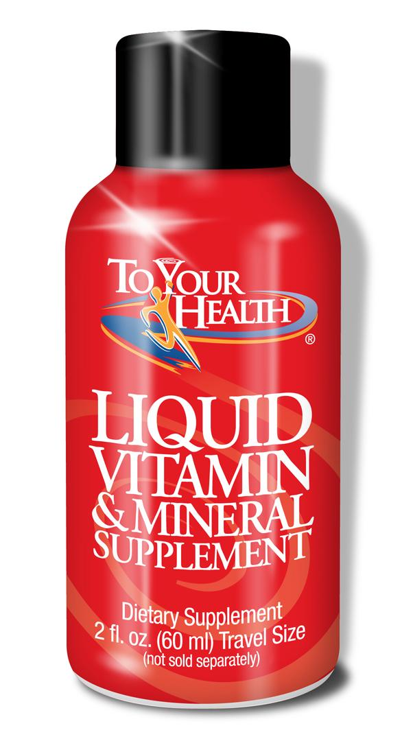Liquid Vitamin & Mineral Supplement- Everything You Need For Healthy Living At Any Age