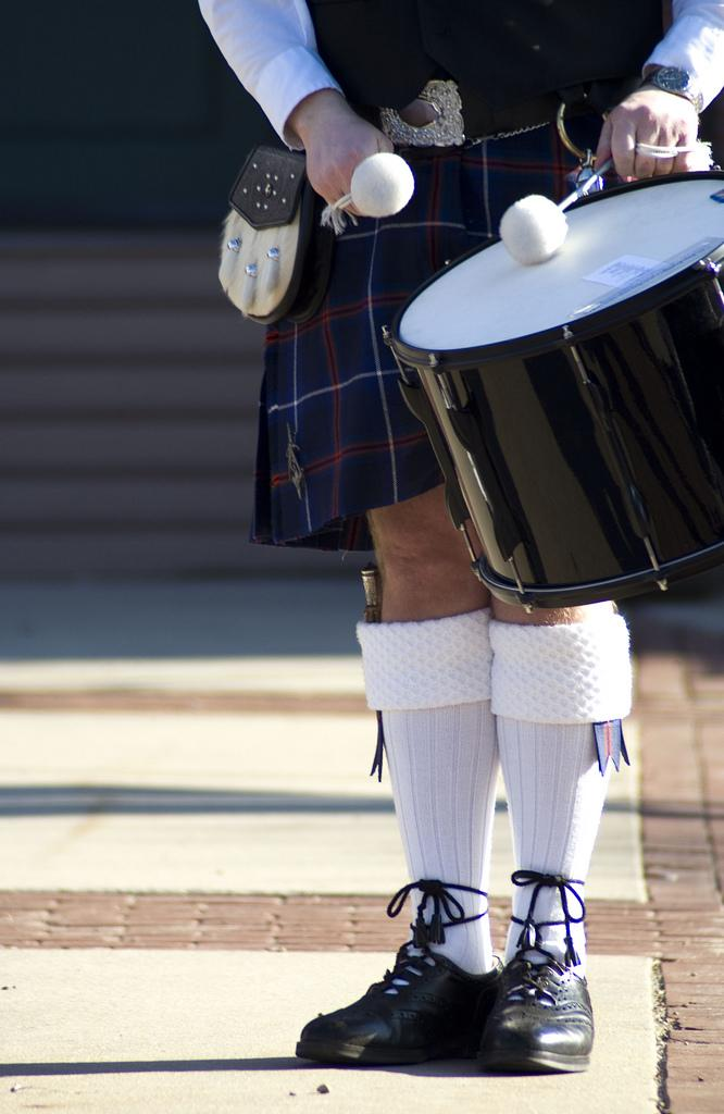Kilts Are Associated With Masculinity And Fertility, In Some Places Of The World