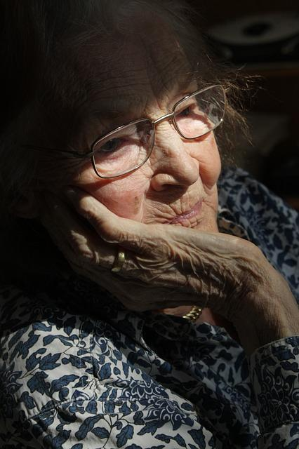 Woman In Retirement Home