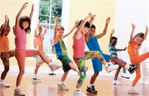 Gym Class Physical Education in Schools