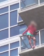 Suicidal woman at Comic-Con
