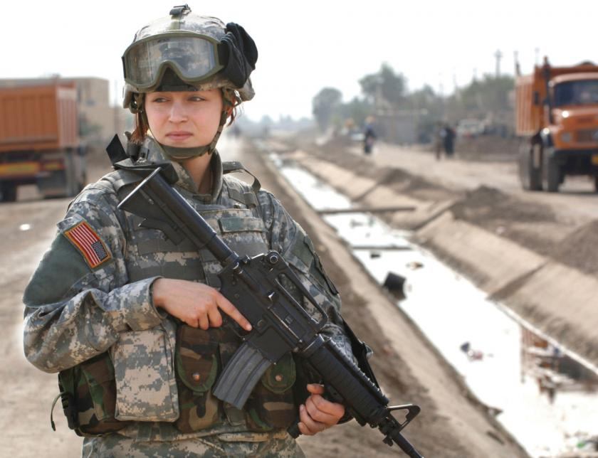 U.S. Army Adjusts To Women Soldiers With New Unisex Uniform