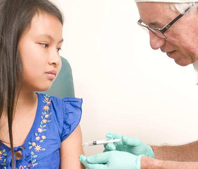 Measles Vaccine Rate Rises In UK