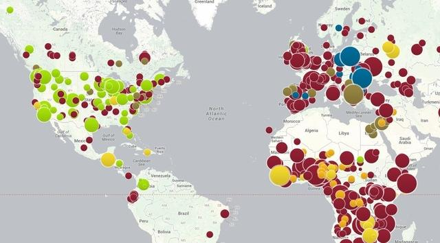 Map Shows AntiVaccine Movements Impact On Public Health In US