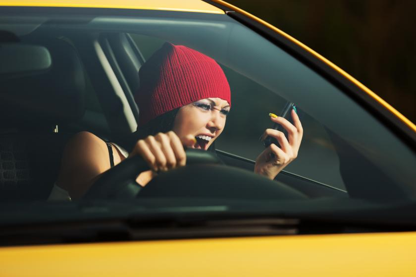 Stress Response Influences Teen Driving Behavior