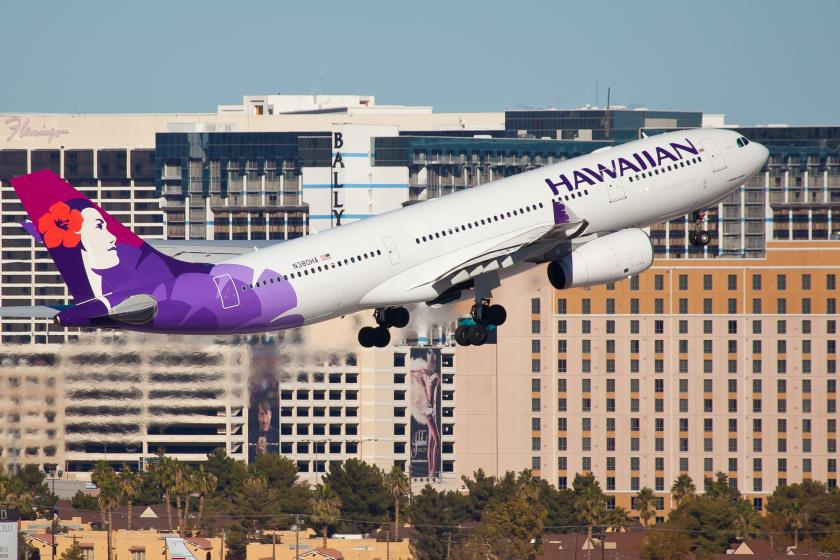 Hawaiian Airlines flight
