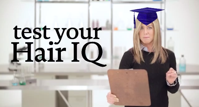 Jennifer Aniston tests your hair IQ
