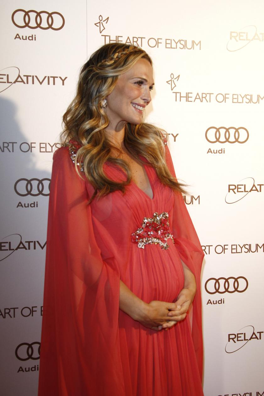 Molly Sims Has Some Advice For New Moms