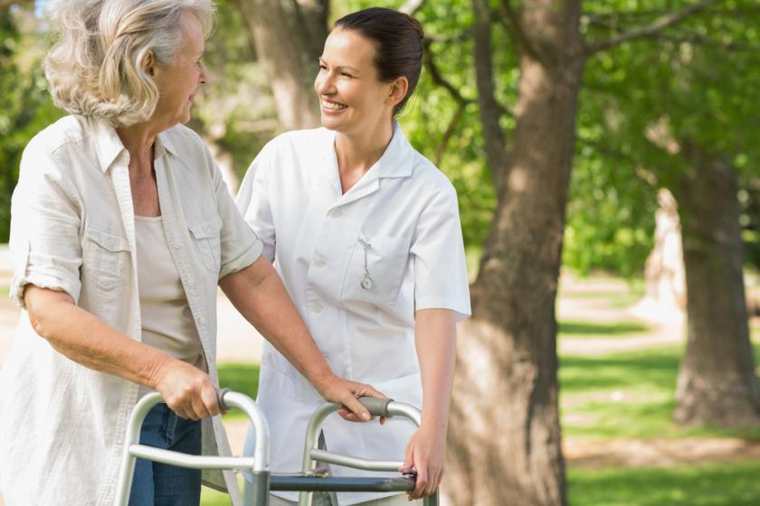 New Walking Program Helps Patients Heal At Home