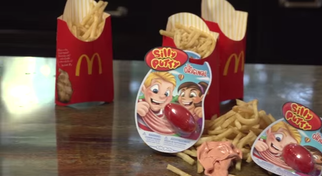 Silly Putty Food