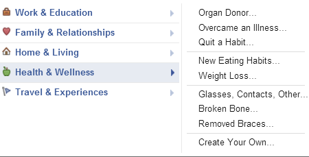 Facebook Health And Wellness Feature