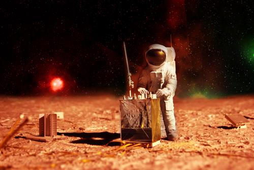 astronaut-on-mars