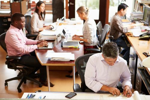 Your Stress Symptoms May Be Caused By Working In An Open-Office Plan