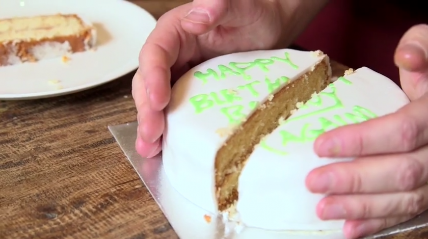 How To Cut Birthday Cake