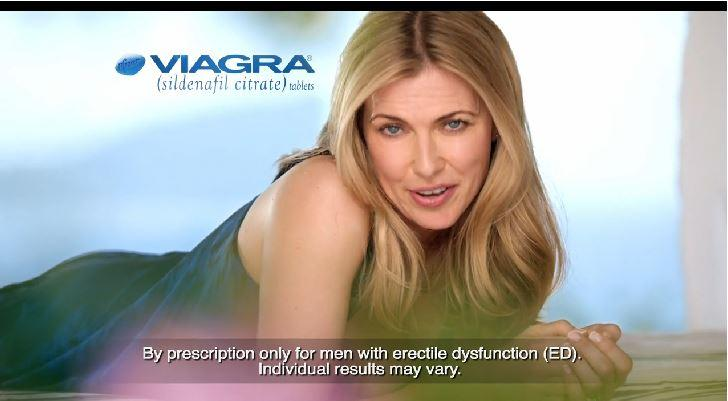 New viagra commercial features a woman not a man discussing
