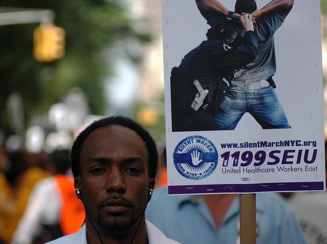 stop and frisk law Stop and frisk laws based on racial stereotypes are being challenged because they disproportionately target hispanics and blacks who may not have violations.