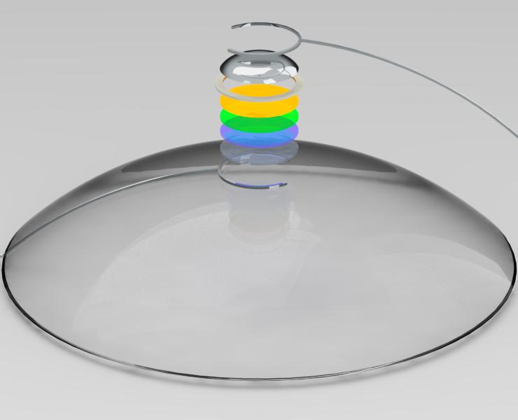 Future Of 3D Printing? Contact Lenses That Display Videos