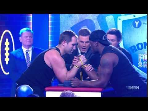 Dangers Of Arm Wrestling: Pro Rugby Player Ben Ross Suffers Excruciating Injury While Arm Wrestling On Australian TV Show