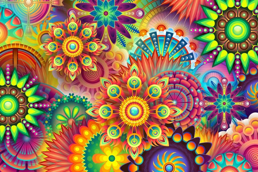 scientists observe lsd effects on the brain; why users experience, Skeleton
