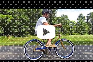 Easy As Riding A Bike? Watch This Man Learn Exactly How Deep His Cognitive Bias Runs