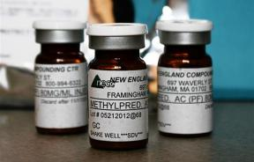 Vials of the steroid distributed by New England Compounding Center (NECC)