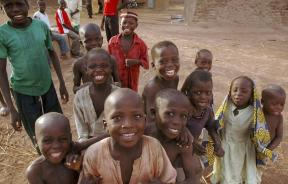Children in northern Zamfara